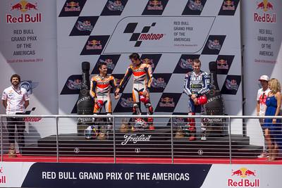 Pedrosa, Marquez & Lorenzo