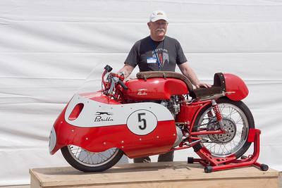Brian Slark and the Barber bike