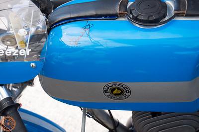 Juan Bulto's signature on the tank