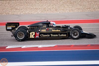 Classic F1 Cars on Track