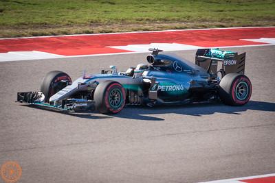 Modern F1 Cars on Track