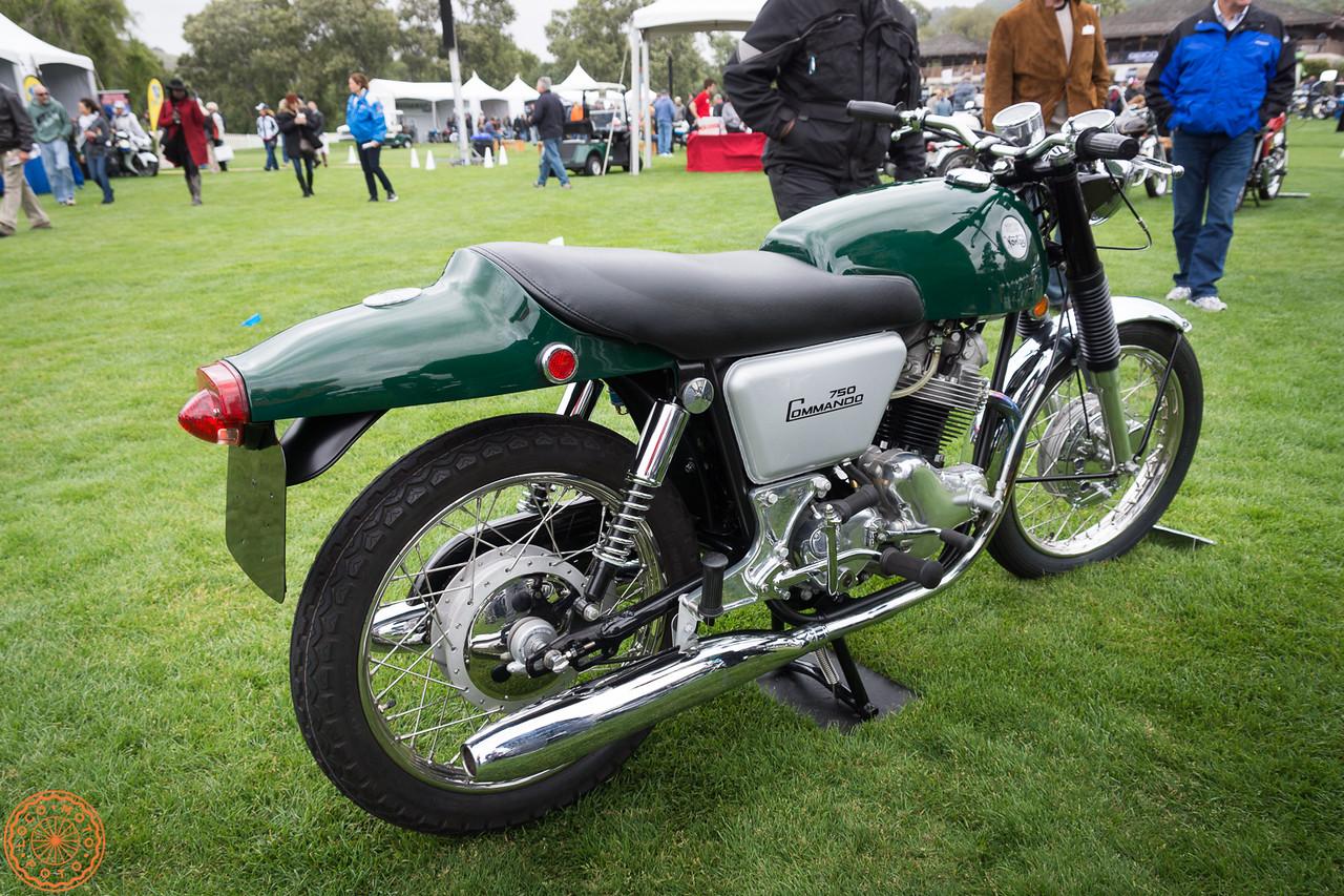 Best of Class 1968 Norton Commando Fastback