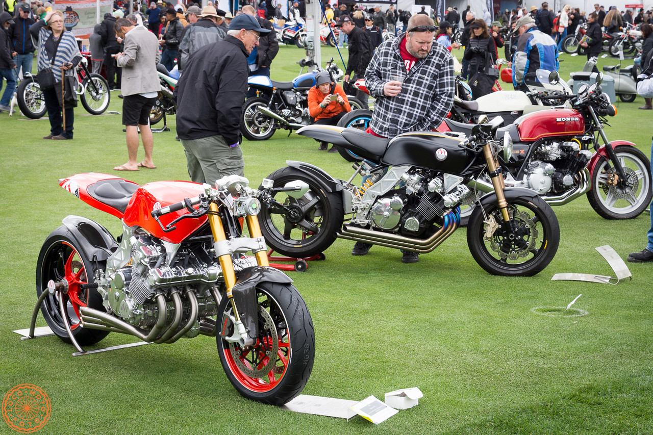 The Honda CBX still draws a crowd