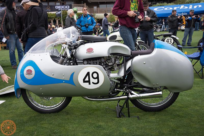 Ex-Tarquinio Provini 250cc Mondial