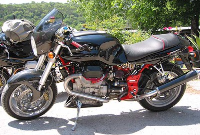 Highly Modified Moto Guzzi V11 Sport
