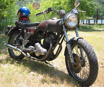 Norton Commando Ratbike