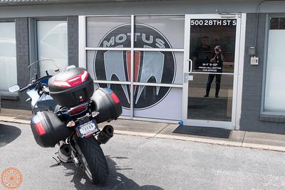 Outside the Motus factory in Birmingham AL
