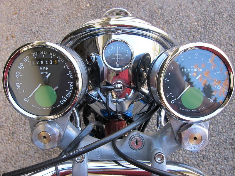 Cockpit Showing Lansdowne Adjustable Dampers