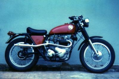 68 Norton P11 (sorry for the crappy Polaroid scan)