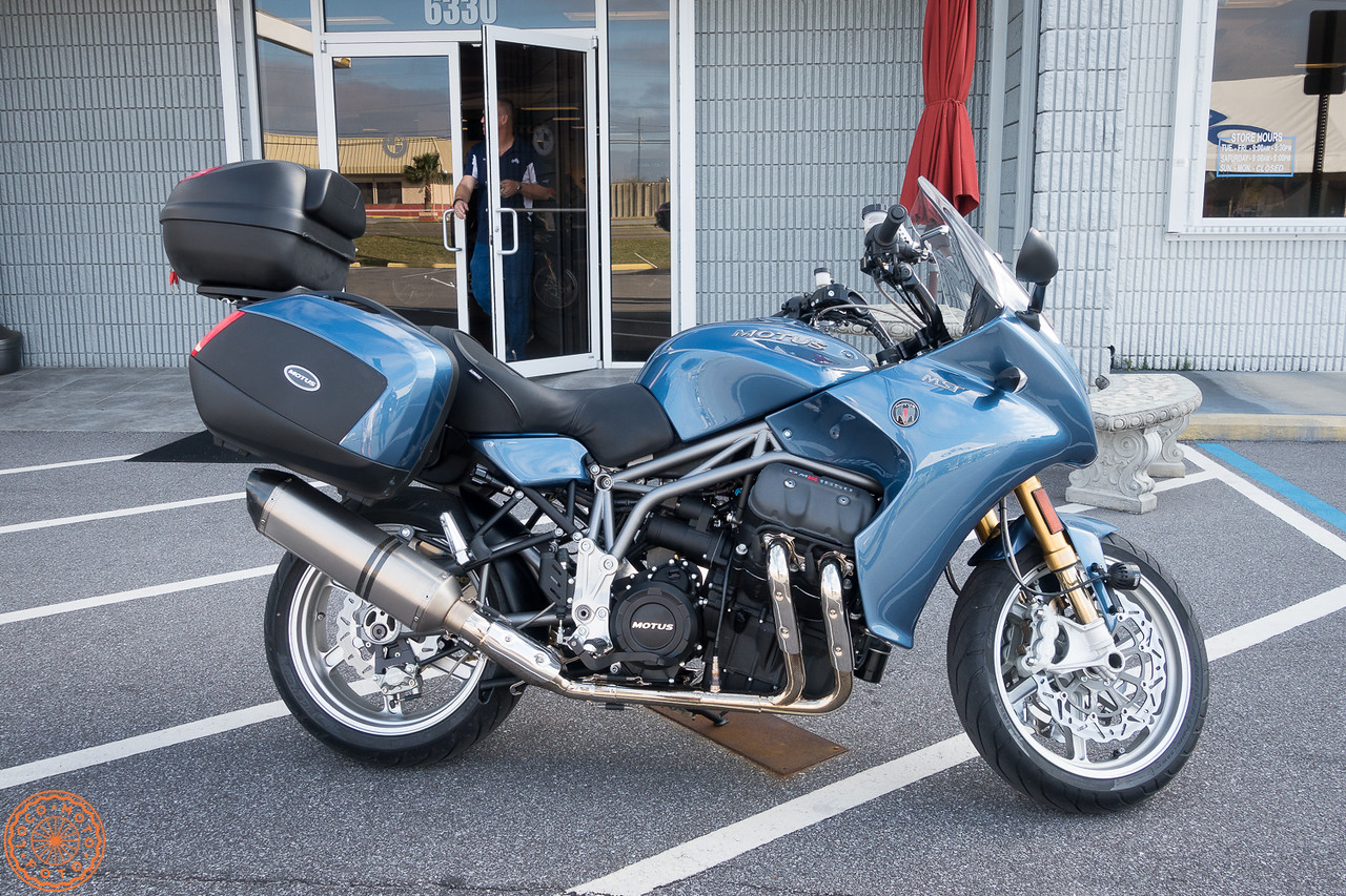 Picking up the bike at Adventure Motorsports of NWF in Pensacola FL