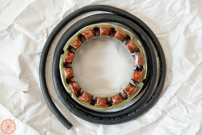 Newly Rewound Stator (Rick's Motorsport Electrics)