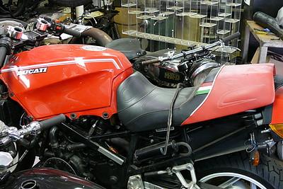 HRD hiding behind a Ducati