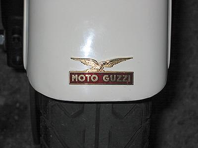Guzzi Fender Badge