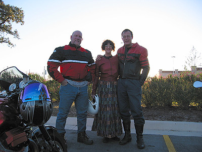 Dave, Susan & Frans