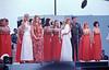Bob Hope USO Show: Golddiggers, Penelope Plumber (Miss World 1968), Linda Bennett, Ann Margret, Bob Hope - December 19th, 1968 Osan Air Base, South Korea. Kodak Ektachrome. Konica AutoReflex T
