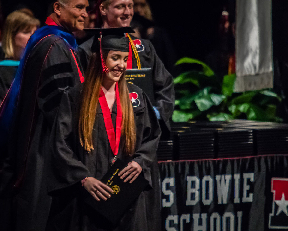 20160603 James Bowie High School Commencement-70