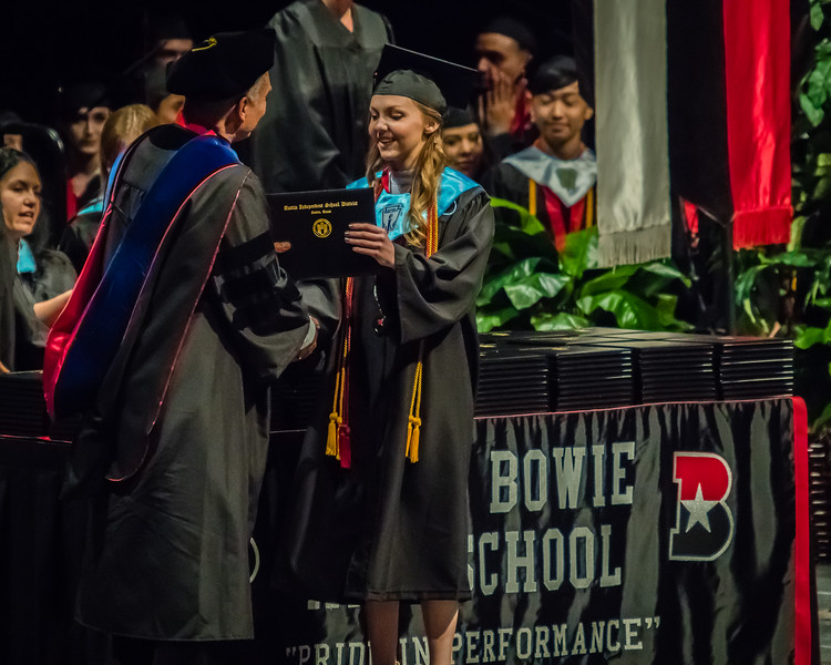 20160603 James Bowie High School Commencement-20