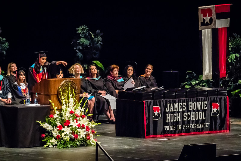 20160603 James Bowie High School Commencement-8