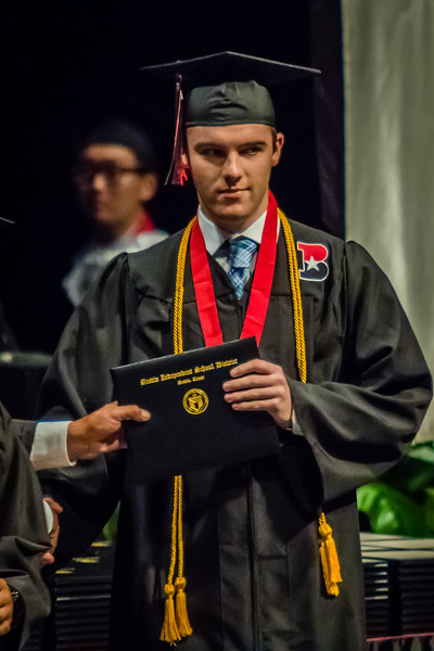 20160603 James Bowie High School Commencement-39