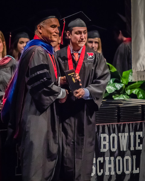 20160603 James Bowie High School Commencement-13