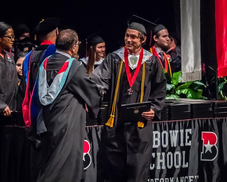 20160603 James Bowie High School Commencement-19