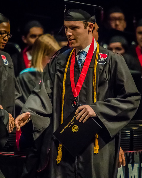 20160603 James Bowie High School Commencement-43