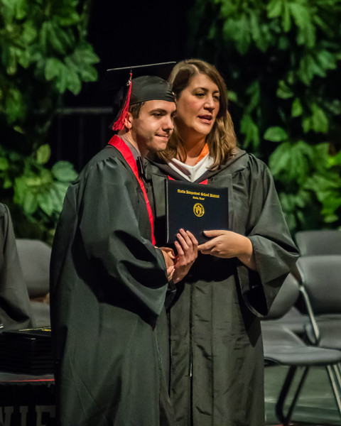 20160603 James Bowie High School Commencement-92