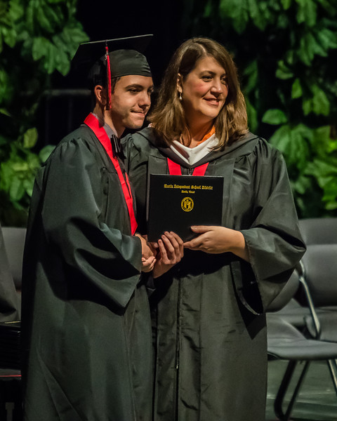 20160603 James Bowie High School Commencement-94