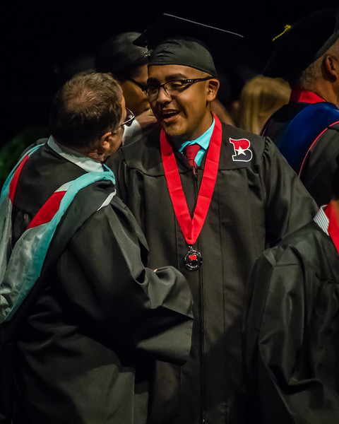 20160603 James Bowie High School Commencement-55