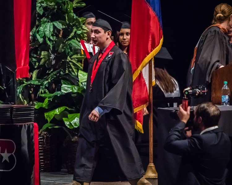 20160603 James Bowie High School Commencement-11