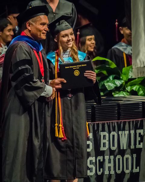 20160603 James Bowie High School Commencement-21