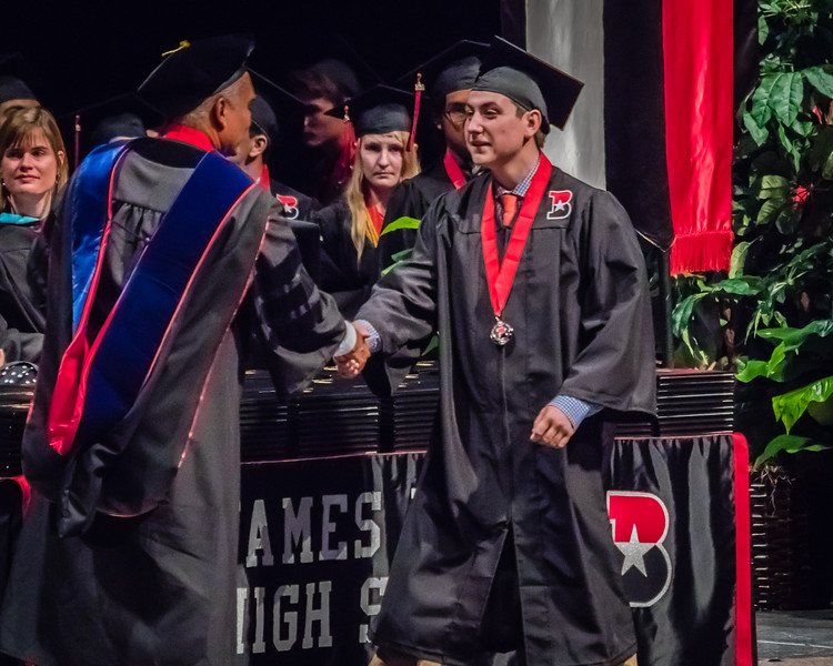 20160603 James Bowie High School Commencement-12