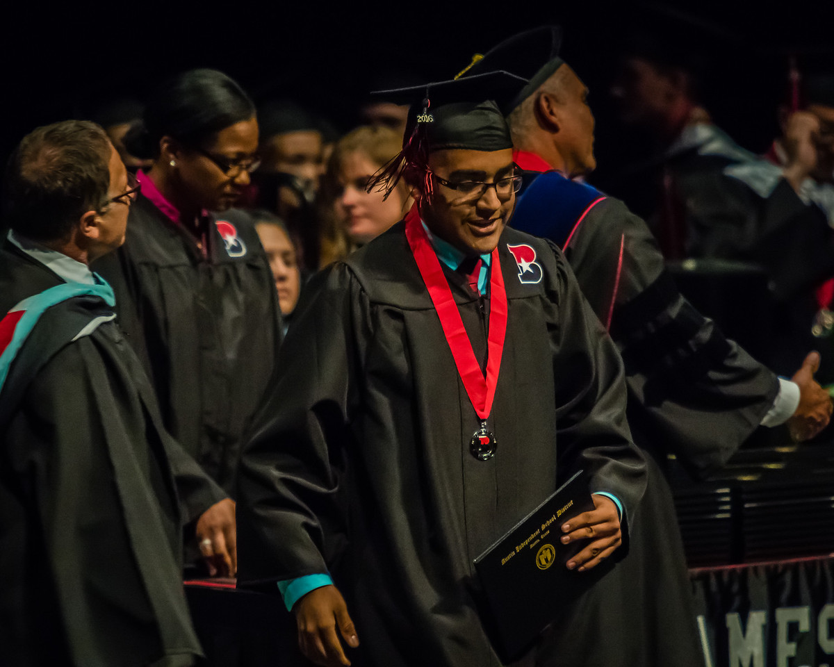 20160603 James Bowie High School Commencement-58