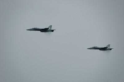 Selfridge Air Show - F-18 Super Hornets