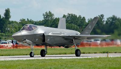 Selfridge Air Show – F-35 Lighting II (4)