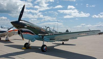 Selfridge Air Show – P-40 Warhawk