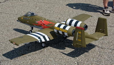 Selfridge Air Show – Remote Controlled A-10 Thunderbolt II