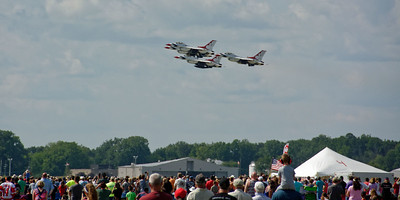 Selfridge Air Show – Air Force Thunderbirds (1)