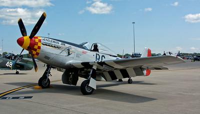 Selfridge Air Show – P-51 Mustang