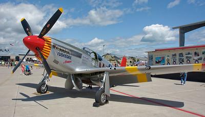 Selfridge Air Show – Tuskegee P-51 Mustang