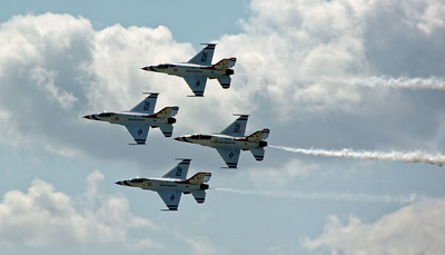 Selfridge Air Show – Air Force Thunderbirds (5)