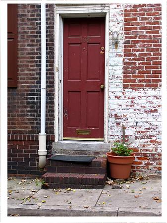 A back street in downtown Philadelphia