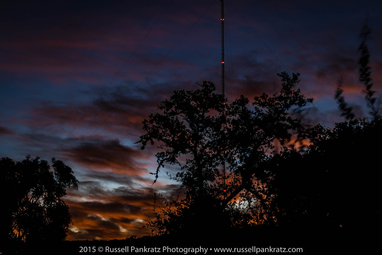 No planets... just a sunrise from my observation point west of downtown Austin.