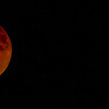 Eclipsed Moon and Spica