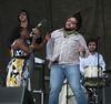 Sharon Jones & The Dap-Kings dancing with Nakia