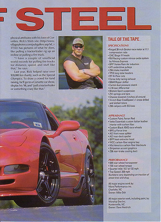 Custom Supercharged C5 Corvette