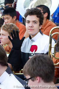 My son, Jordan Pankratz.  He's a freshman baritone section member and half of Neptune during competition performances.  You'll see lots more of him, of course, in this gallery.