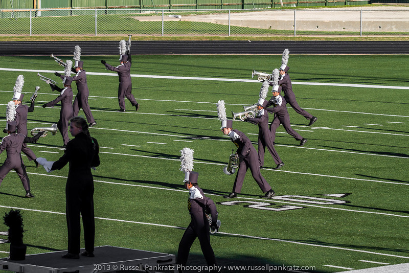 20131022 UIL Reg 18 Marching Contest-0457