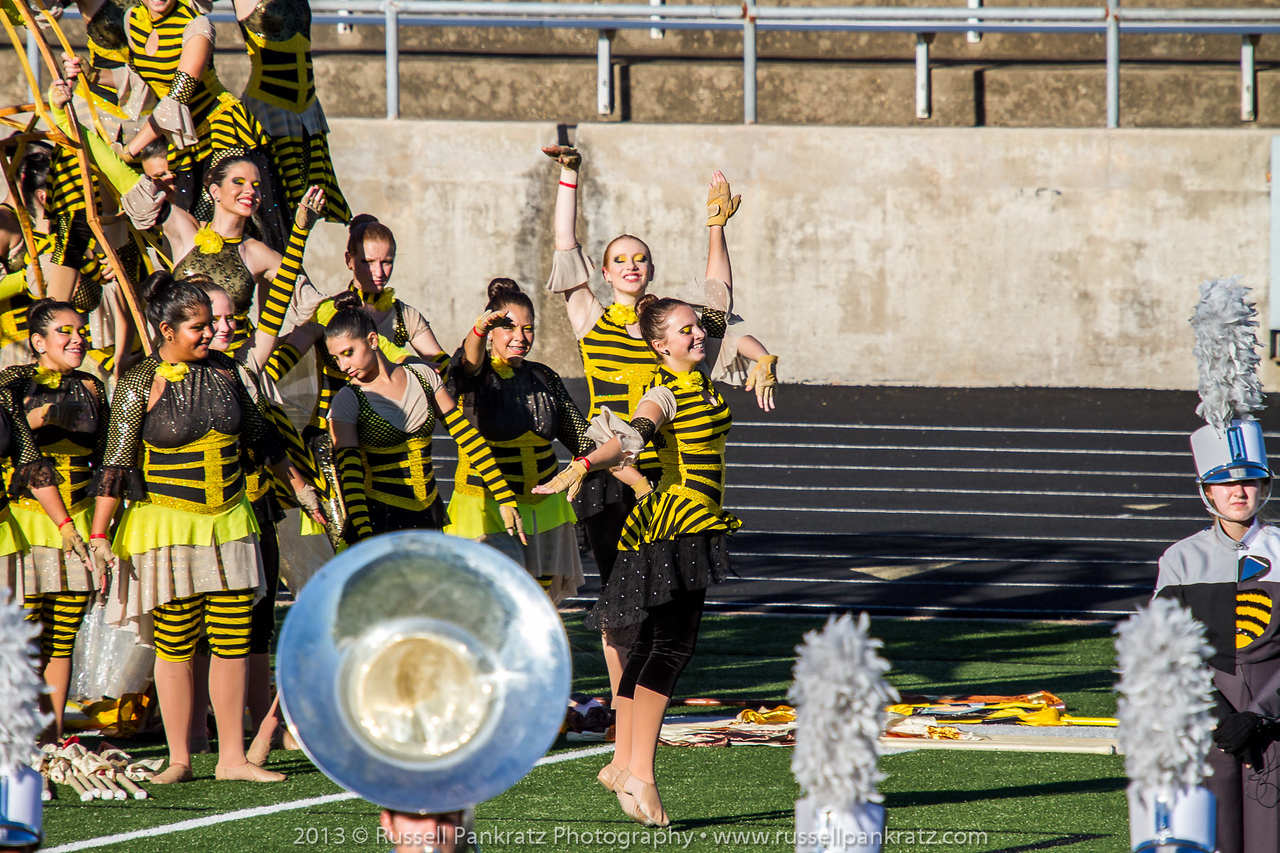 20131022 UIL Reg 18 Marching Contest-0436