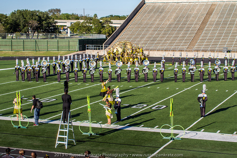 20131022 UIL Reg 18 Marching Contest-0419